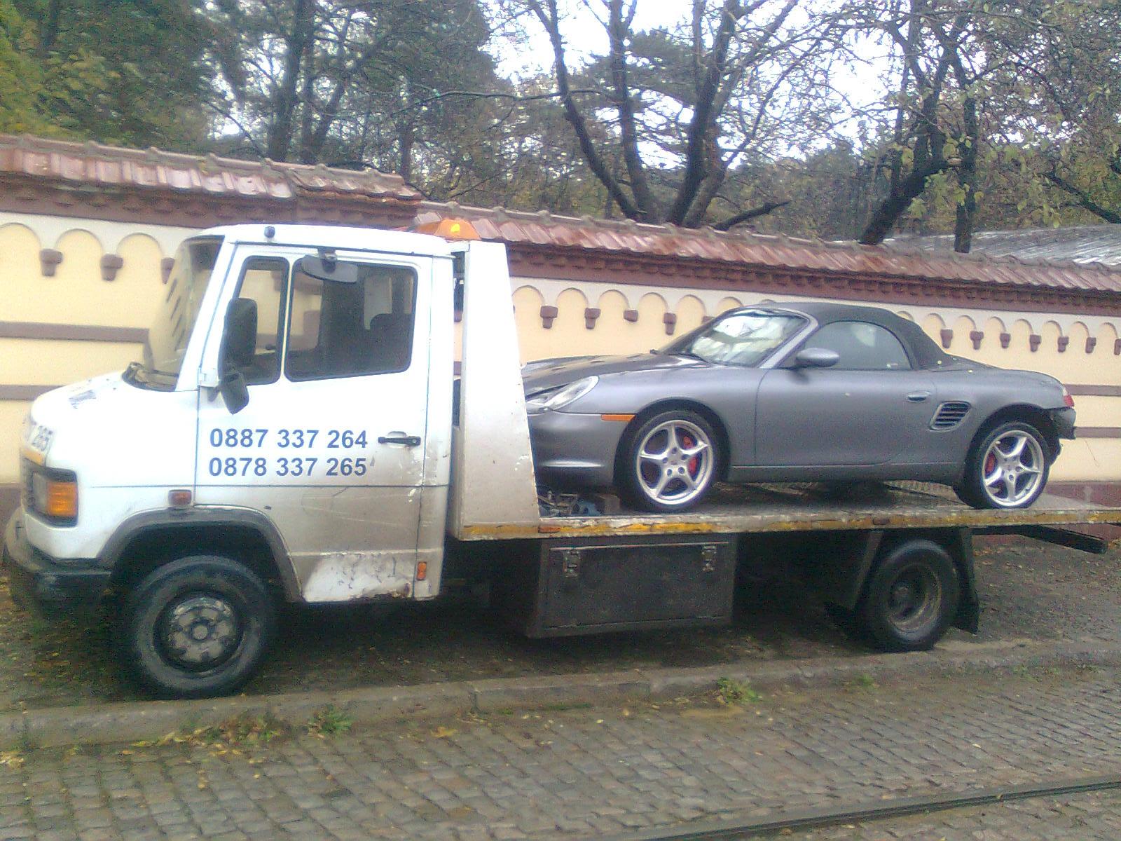 Пътна Помощ на Porsche