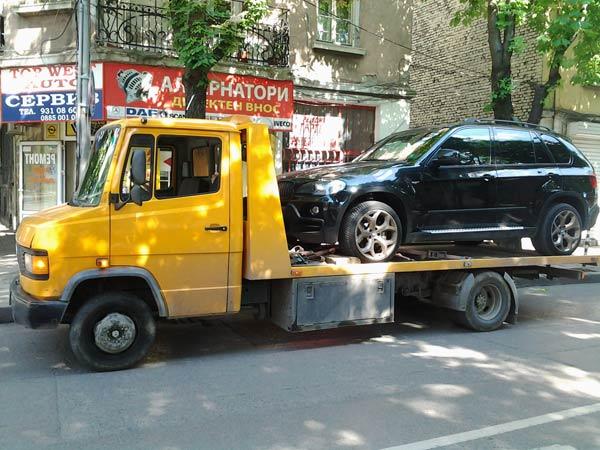 Репатриране на джип BMW X5