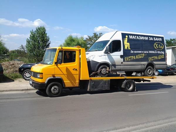 Пътна Помощ - Репатриране на Микробус