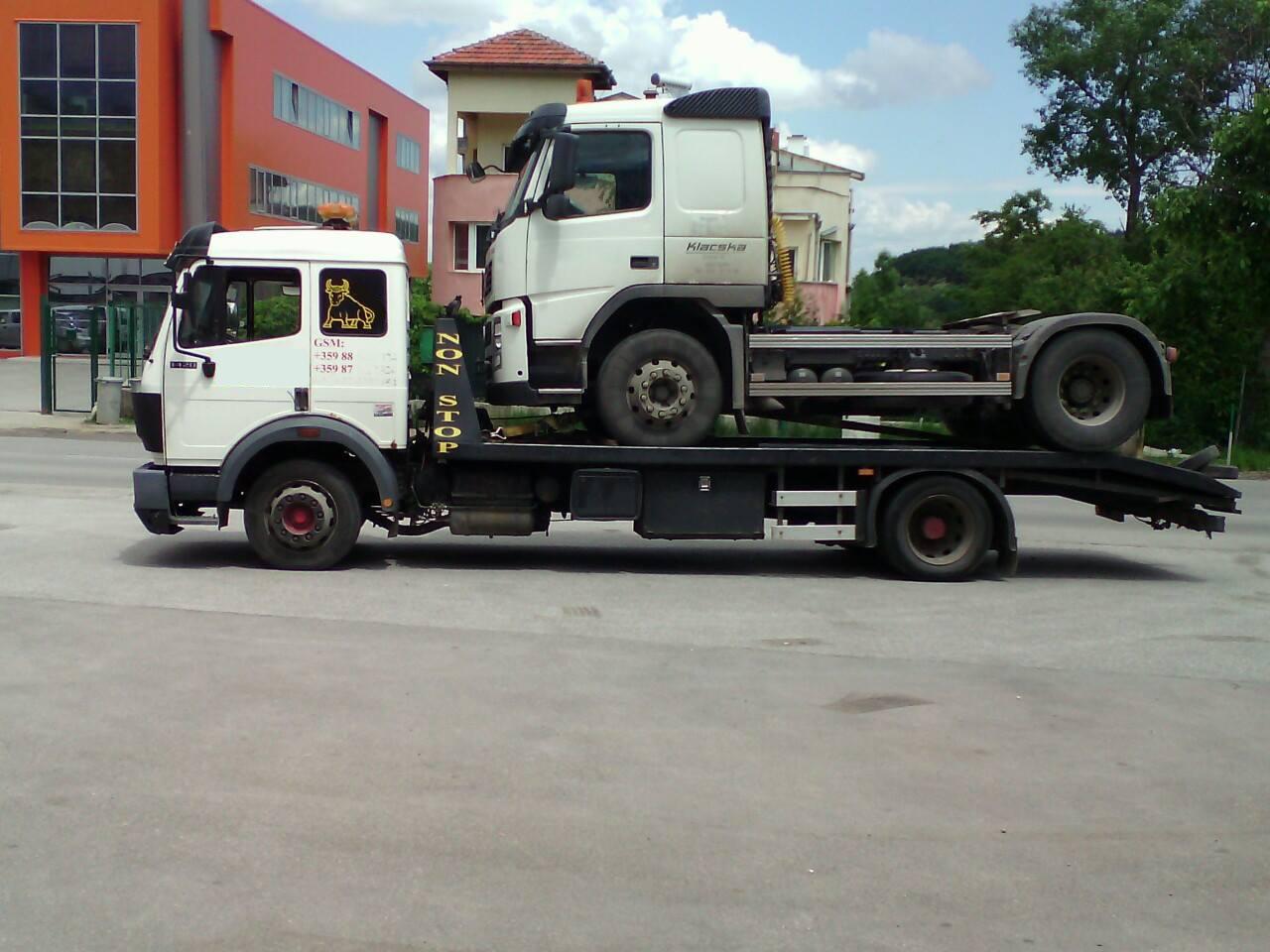 Пътна Помощ - Репатриране на Тир