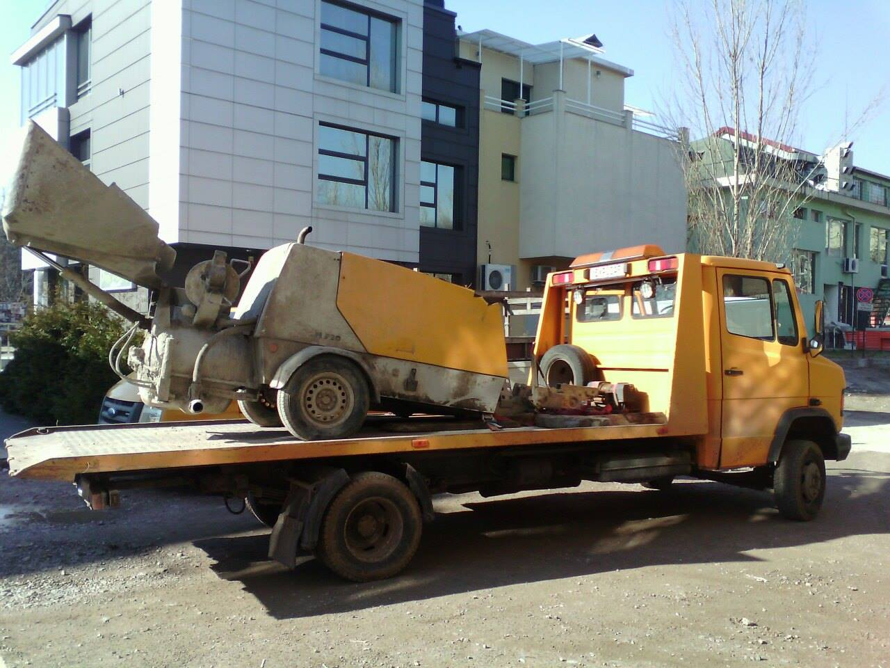 Репатриране на пътно-транспортна техника