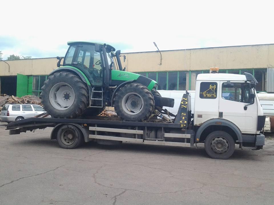 Репатриране на селскостопански Трактор