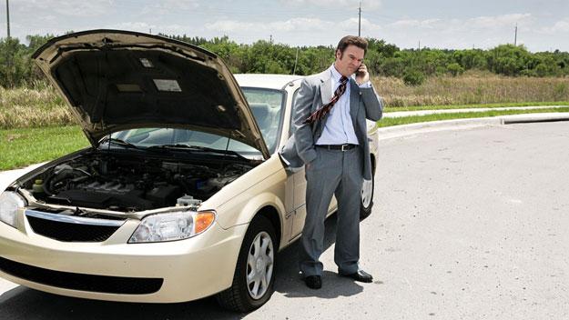 оказване на пътна помощ