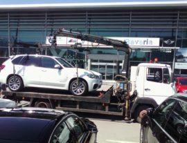 пътна помощ на BMW X5